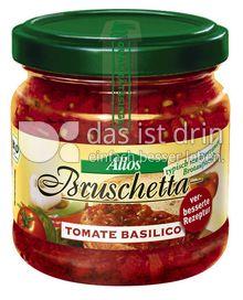 Produktabbildung: Allos Bruschetta Tomate Basilico 180 g