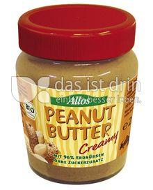 Produktabbildung: Allos Peanut Butter Creamy 227 g