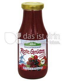Produktabbildung: Allos Fruchtdessert Rote Grütze 250 ml