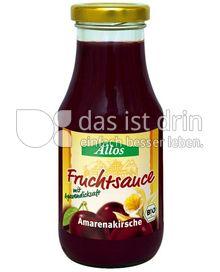 Produktabbildung: Allos Fruchtsauce Amarenakirsche 250 ml
