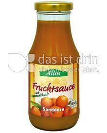 Produktabbildung: Allos Fruchtsauce Sanddorn 250 ml