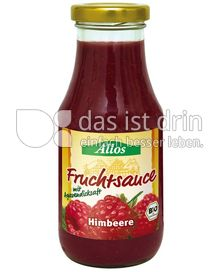 Produktabbildung: Allos Fruchtsauce Himbeere 250 ml