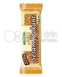 Produktabbildung: Allos Sesam-Krokant-Riegel 30 g