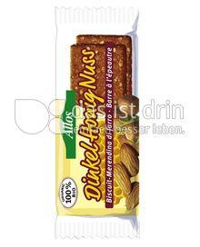 Produktabbildung: Allos Dinkel Honig Nuss Riegel 50 g