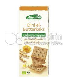 Produktabbildung: Allos Dinkel-Butterkeks 150 g