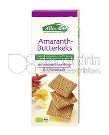 Produktabbildung: Allos Amaranth-Butterkeks 150 g