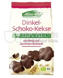 Produktabbildung: Allos Dinkel-Schoko-Kekse 125 g