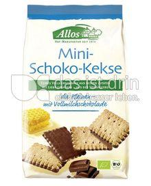 Produktabbildung: Allos Mini-Schoko-Kekse 125 g