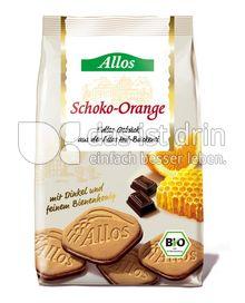 Produktabbildung: Allos Schoko- Orange Gebäck 125 g