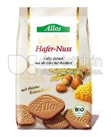 Produktabbildung: Allos Hafer-Nuss Gebäck 125 g