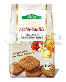 Produktabbildung: Allos Mohn-Vanille Gebäck 125 g