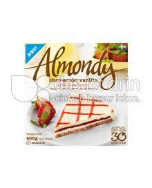 Produktabbildung: Almondy Vanille-Frischkäsetorte mit Erdbeeren 400 g