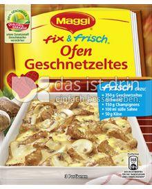 Produktabbildung: Maggi fix & frisch Ofen-Geschnetzeltes 32 g
