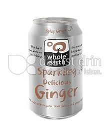 Produktabbildung: Whole Earth Sparkling Delicious Ginger 330 ml