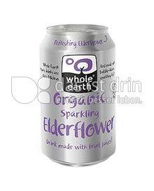 Produktabbildung: Whole Earth Organic Sparkling Elderflower 330 ml
