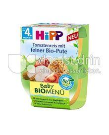 Produktabbildung: Hipp Baby Bio-Menü Tomatenreis mit feiner Bio-Pute 380 g