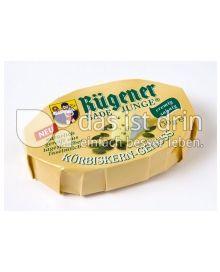Produktabbildung: Rügener Badejunge Weichkäse mit feinen Kürbiskernen 150 g