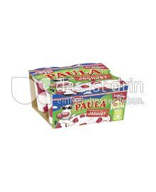 Produktabbildung: Paula Dessert mir Joghurt und Erdbeer-Flecken 4 St.
