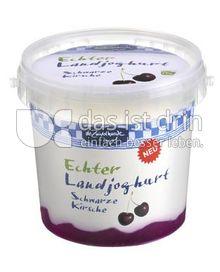 Produktabbildung: De Zuivelhoeve Echter Landjoghurt schwarze Kirsche 500 g