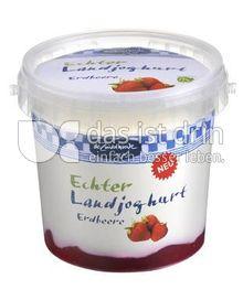 Produktabbildung: De Zuivelhoeve Echter Landjoghurt Erdbeere 500 g