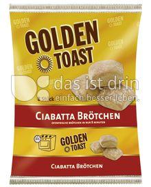 Produktabbildung: GOLDEN TOAST Ciabatta Brötchen 8 St.