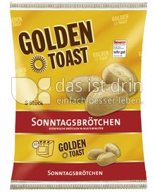 Produktabbildung: GOLDEN TOAST Sonntagsbrötchen 400 g