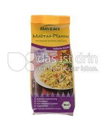 Produktabbildung: Davert Madras-Pfanne 200 g