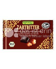 Produktabbildung: Rapunzel Zartbitter Schokolade mit Haselnüssen 100 g
