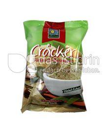 Produktabbildung: Bohlsener Mühle Cräcker Bärlauch-Parmesan 150 g