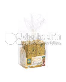 Produktabbildung: Bohlsener Mühle Curry & Kürbiskern Snäckebrot 200 g
