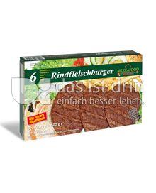 Produktabbildung: Mekkafood Rindfleischburger 500 g