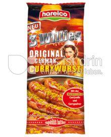 Produktabbildung: Hareico 3 Willies Original German Currywurst 466,5 g