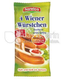 Produktabbildung: Hareico 4 Wiener Würstchen 350 g