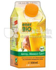 Produktabbildung: enerBio Apfel-Mango-Saft 750 ml