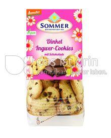Produktabbildung: Sommer Dinkel Ingwer Cookies mit Schokolade 150 g