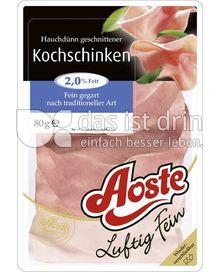 Produktabbildung: Aoste Luftig Fein Kochschinken 80 g