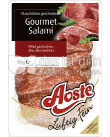 Produktabbildung: Aoste Luftig Fein Gourmet Salami 80 g