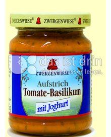 Produktabbildung: Zwergenwiese Tomate-Basilikum Brotaufstrich 125 g