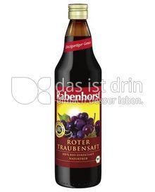 rabenhorst bio roter traubensaft 75 0 kalorien kcal und inhaltsstoffe das ist drin. Black Bedroom Furniture Sets. Home Design Ideas