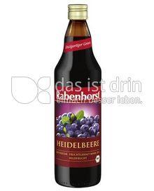 Produktabbildung: Rabenhorst Bio Heidelbeer-Nektar 750 ml