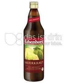 Produktabbildung: Rabenhorst Bio-Sauerkrautsaft 750 ml