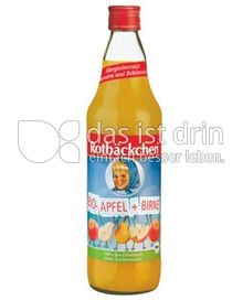 Produktabbildung: Rotbäckchen Bio Apfel-Birnensaft 750 ml