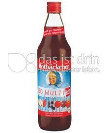 Produktabbildung: Rotbäckchen Bio-Multi Rot 750 ml