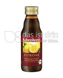 Produktabbildung: Rabenhorst Bio-Zitronensaft 125 ml