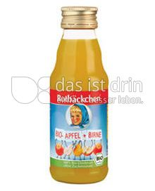 Produktabbildung: Rotbäckchen Bio-Apfel-Birne Mini 125 ml
