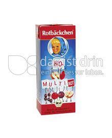 Produktabbildung: Rotbäckchen Rotbäckchen Bio-Multi Rot 200 ml