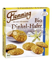 Produktabbildung: Flemming Bio Dinkel Hafer Gebäck 125 g