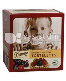 Produktabbildung: Flemming Bio Dinkel Vollkorn Torteletts 150 g
