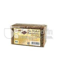Produktabbildung: Flemming Dinkel Butterkeks mit Schokolade 200 g