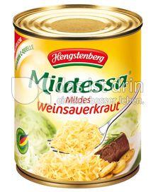 Produktabbildung: Hengstenberg Mildessa Mildes Weinsauerkraut 810 ml